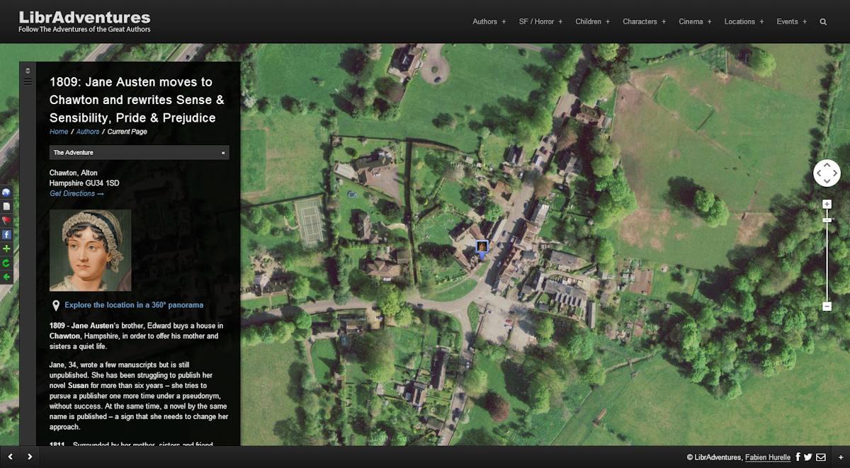 Travel with Agatha Christie & Jane Austen on LibrAdventures – The Literary Atlas